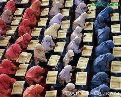 Etiquetas ao Ler o Qur'an