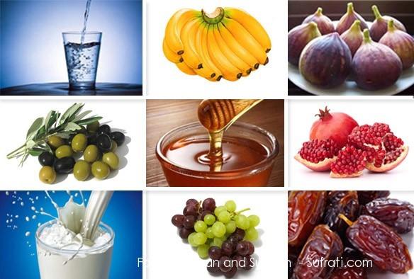 Alimentos Mencionados no Alcorão