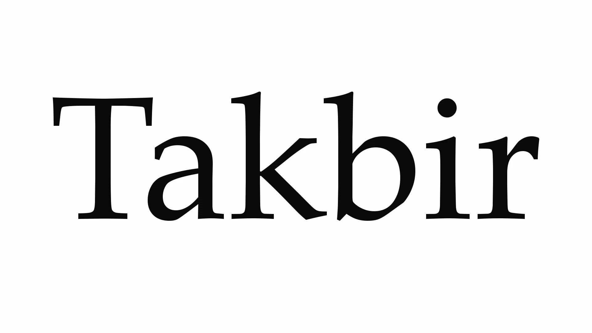 Takbir nos dias de Tashriq